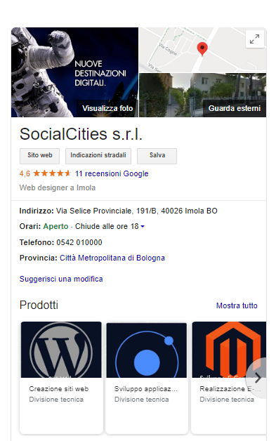 Knowledge Graph SocialCities