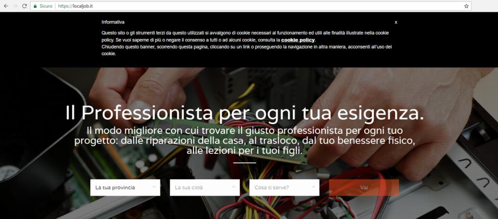 Cookie Law agenzia web Imola Bologna