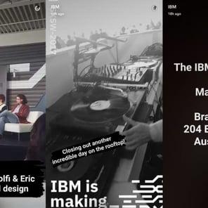come usare Snapchat marketing_IBM