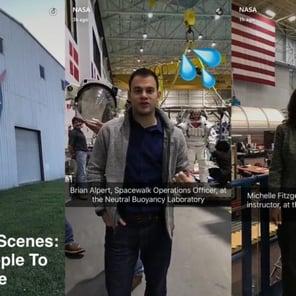 come usare Snapchat per aziende_nasa