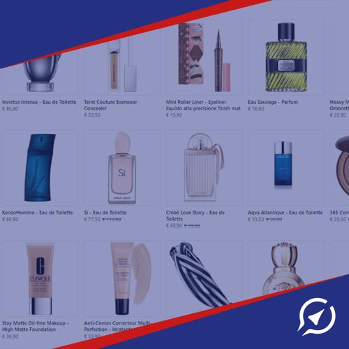 prodotti ecommerce in Facebook
