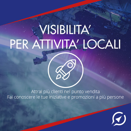 visibilità per attività locali