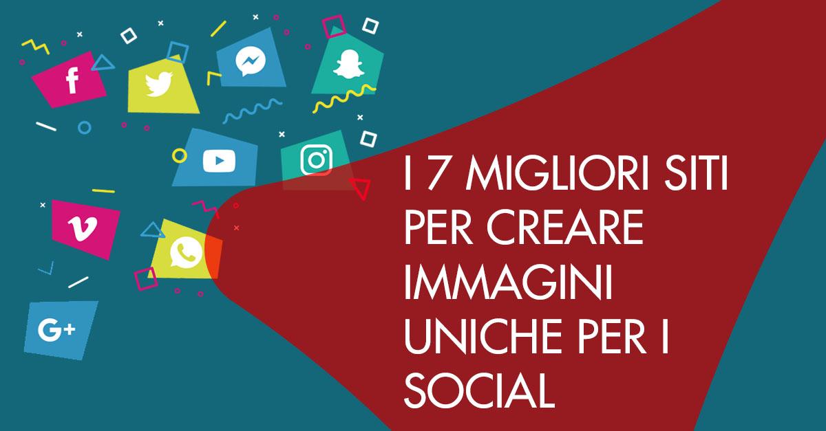 7 migliori siti immagini social