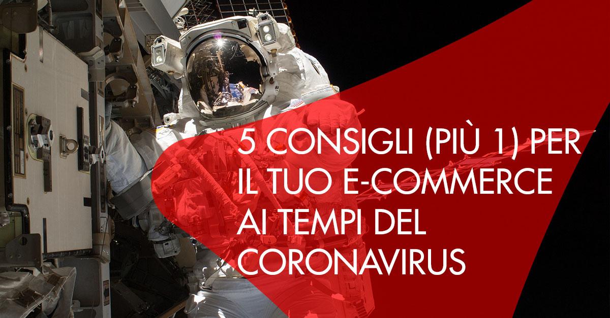 5 consigli e-commerce coronavirus