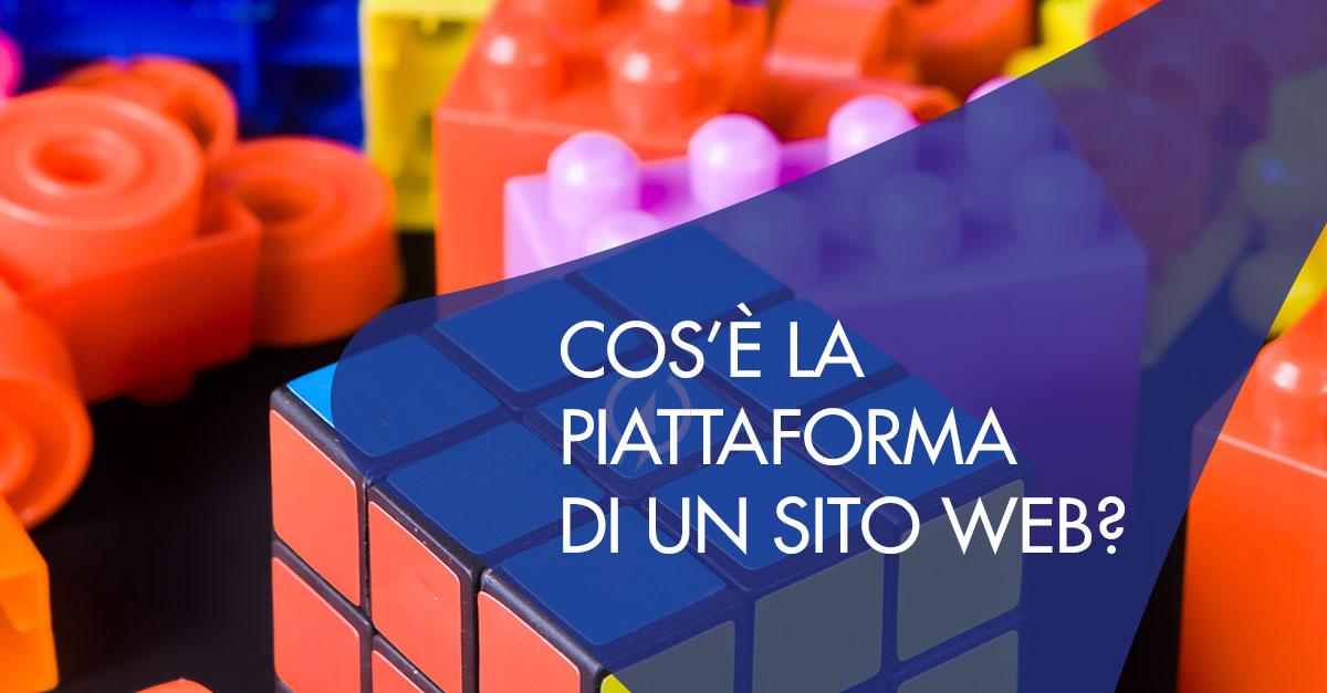 Piattaforma sito Web Cos'è