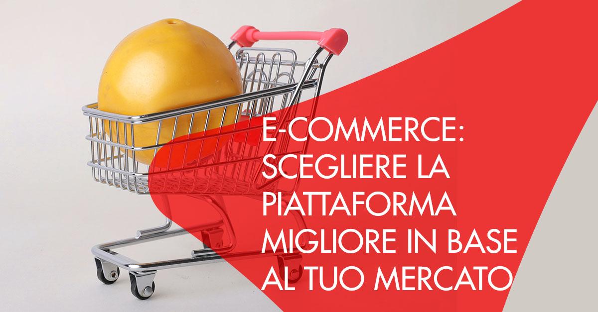E-Commerce piattaforma in base al mercato
