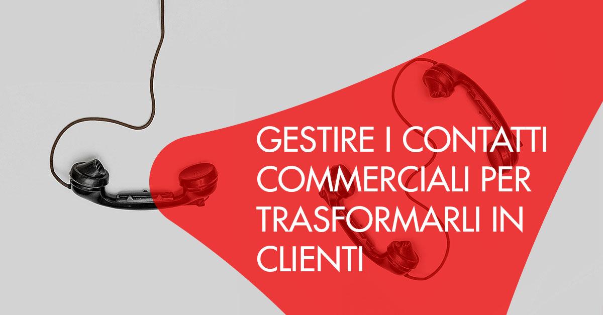 contatti commerciali in clienti