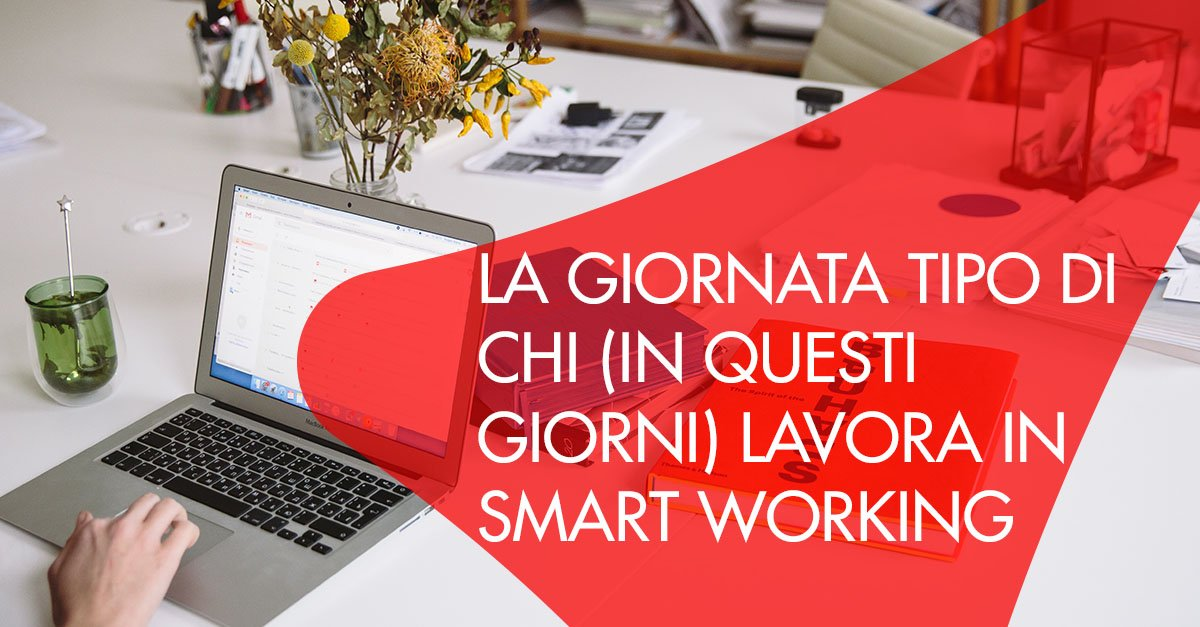 giornata tipo smart working