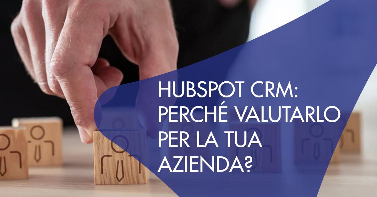 hubspot CRM per azienda
