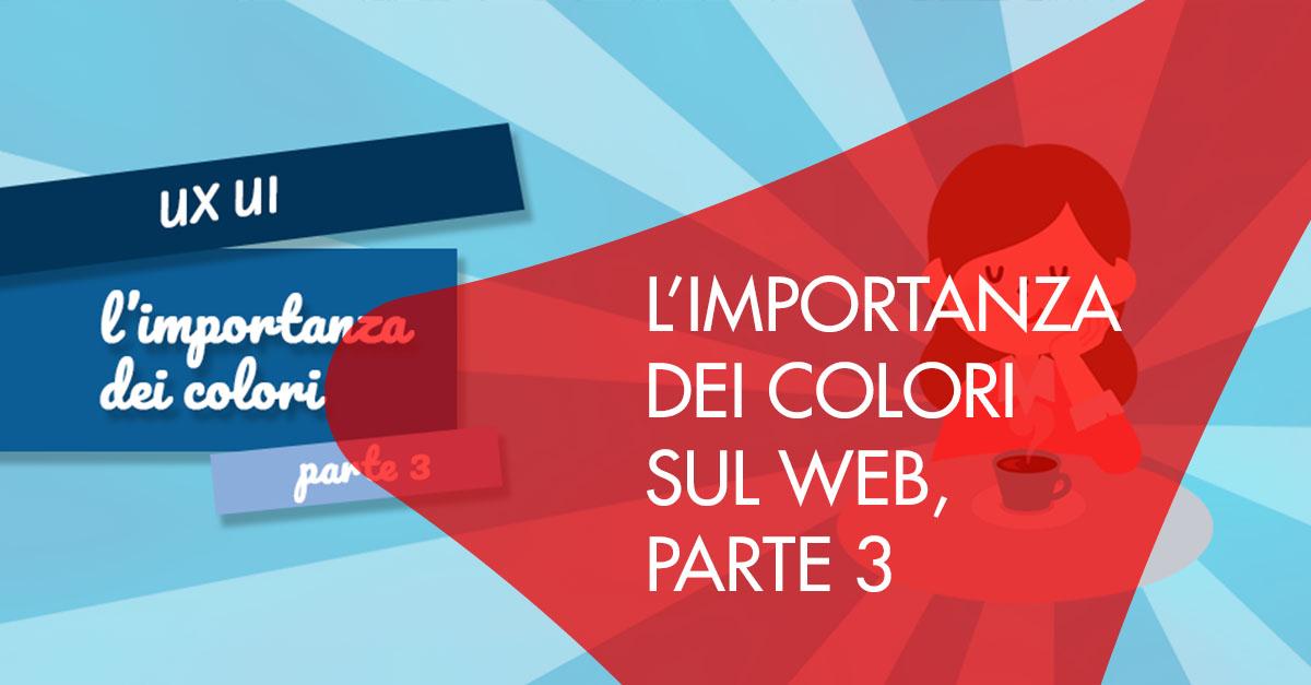 L'importanza colori web