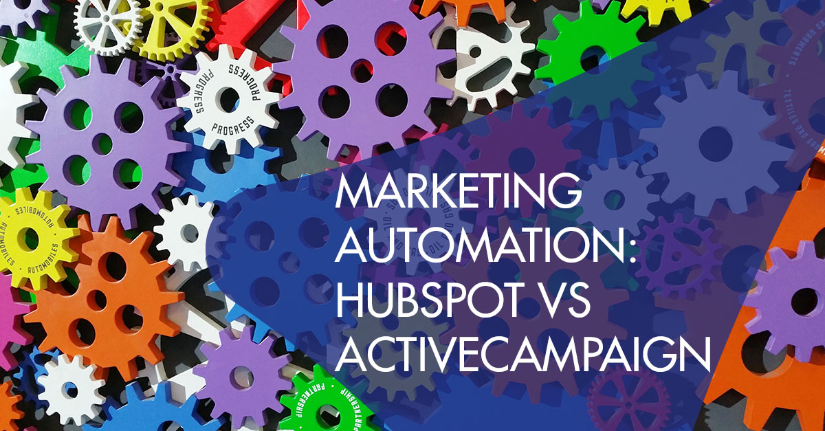 Marketing automation Hubspot activecampaign