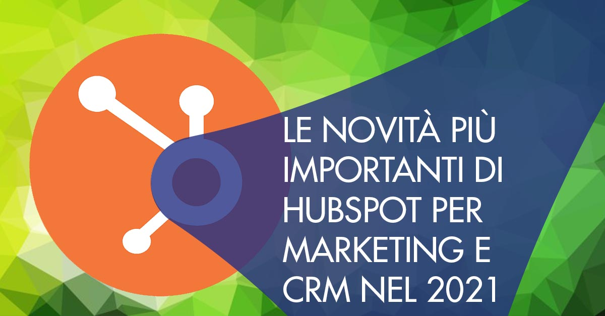 HubSpot Marketing CRM 2021