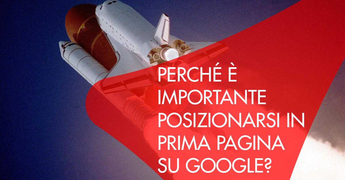 Posizionarsi prima pagina Google