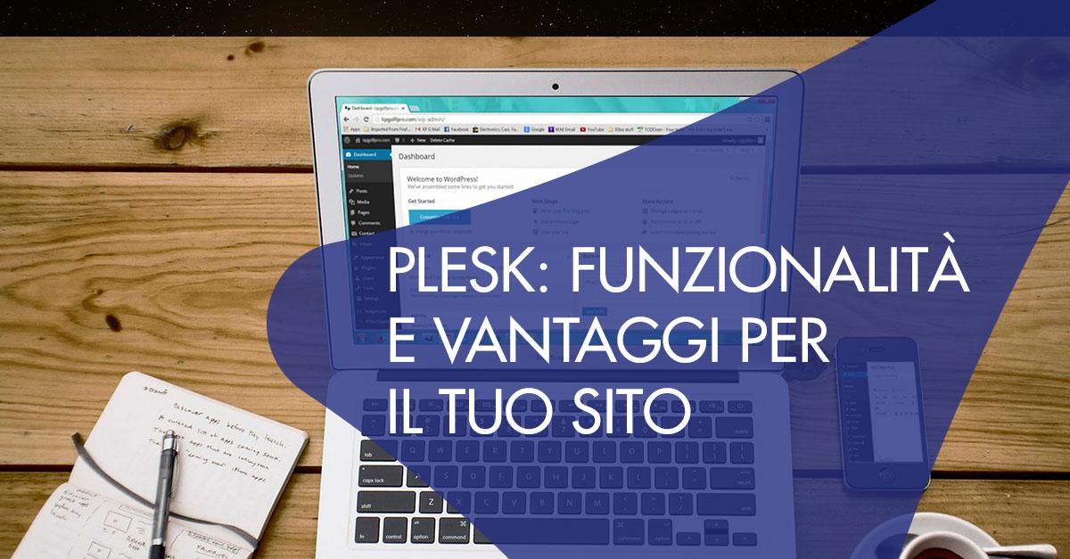 plesk vantaggi funzionalità