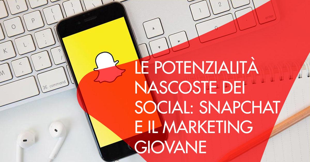 Potenzialità Snapchat Marketing Giovane