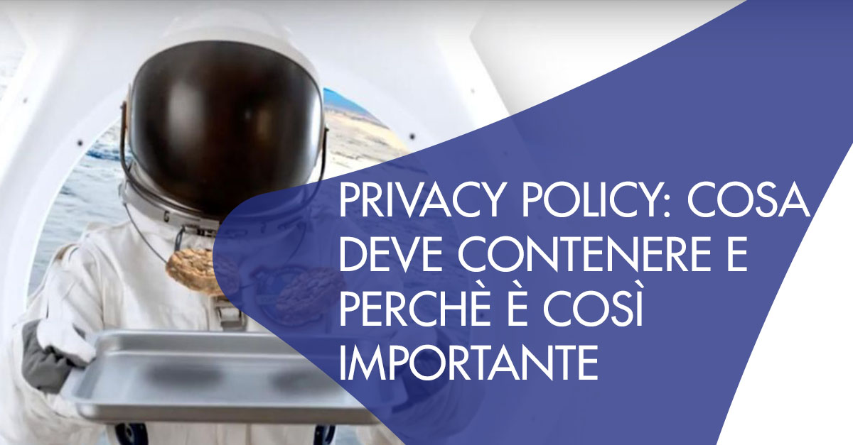 privacy policy cosa deve contenere