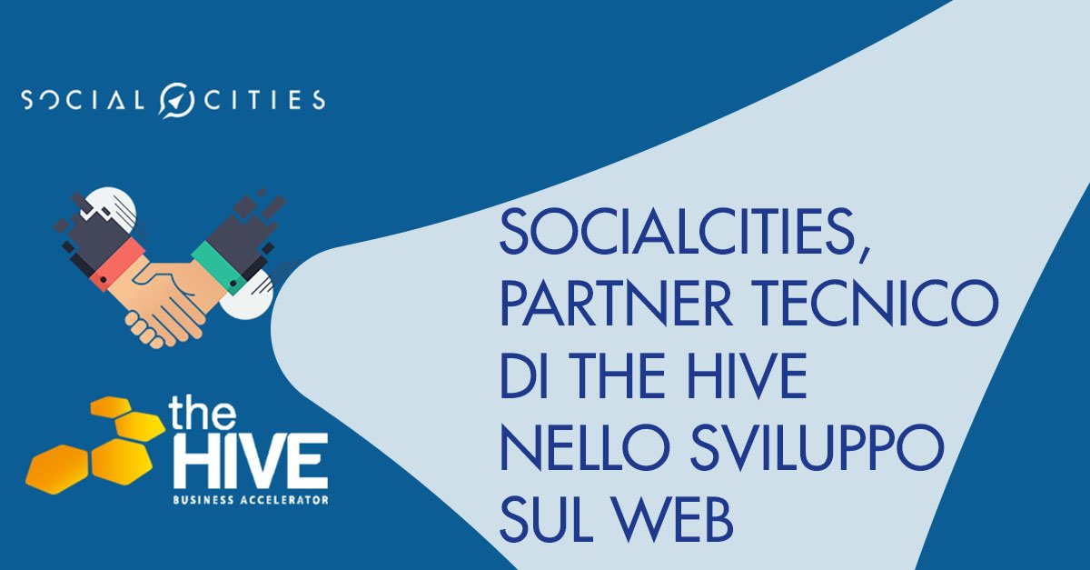 SocialCities The Hive sviluppo Web