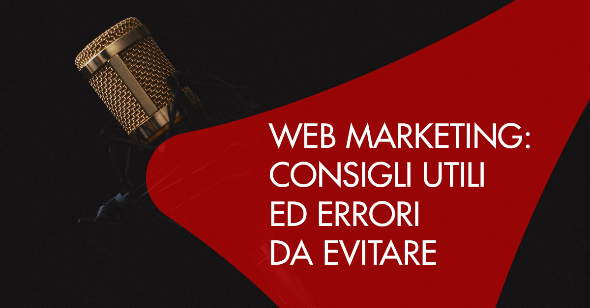 Web Marketing consigli errori