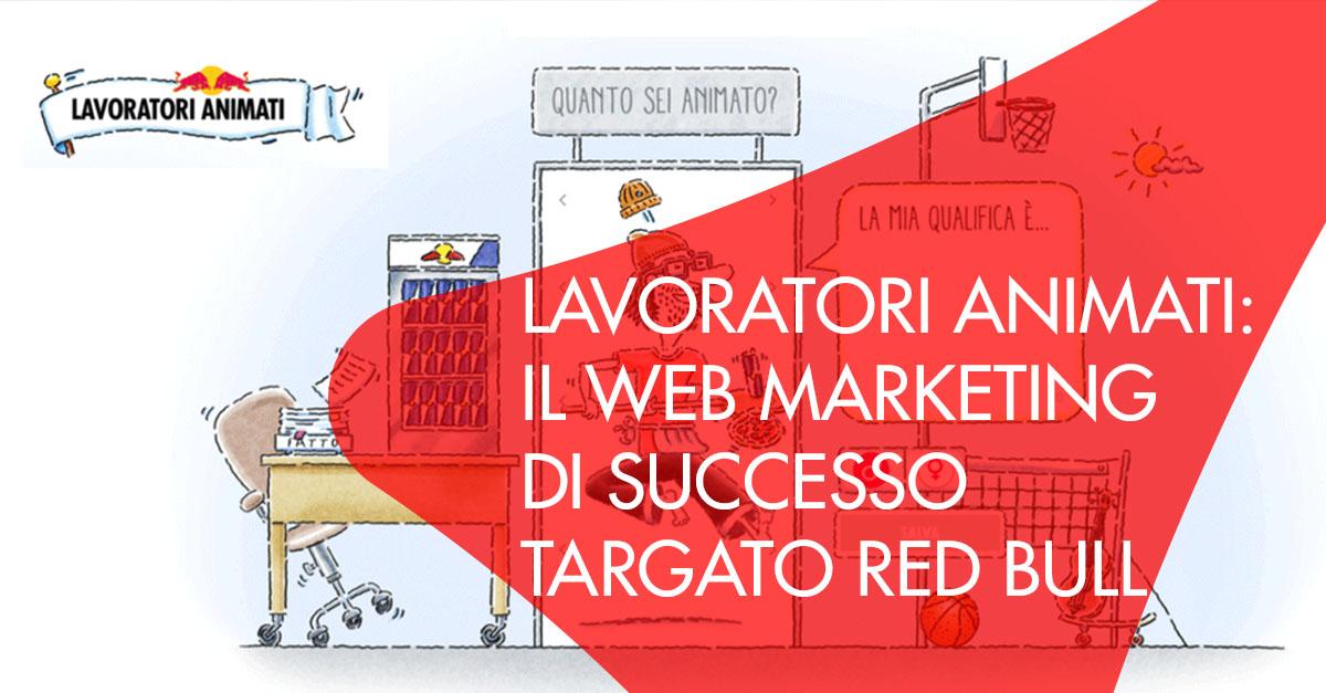 Web Marketing Red Bull