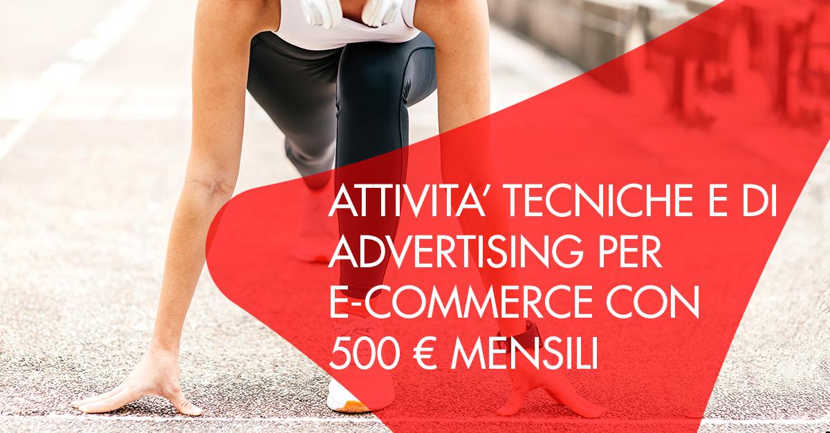marketing ecommerce 500 euro al mese