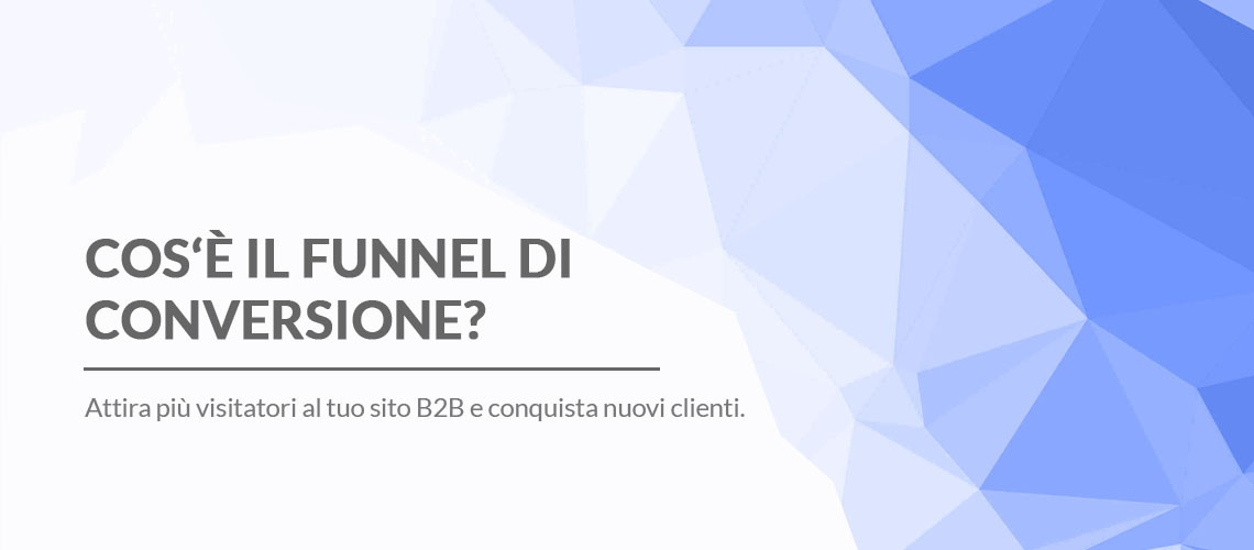 funnel di conversione inbound marketing b2b